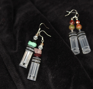 plunger earrings